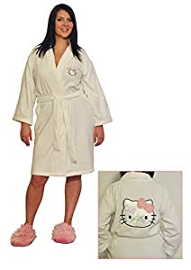 Hello kitty adult dressing gown sports outdoors - Robe de chambre hello kitty ...
