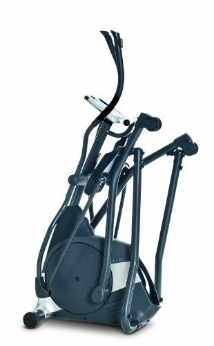 Horizon Fitness Elliptical Ergometer Andes 5, schwarz/ silber, 182 x 65 x 189 cm - 3