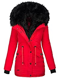 Navahoo 2in1 Damen Winter Jacke Parka Mantel Winterjacke warm Fell B365 1e114501c2