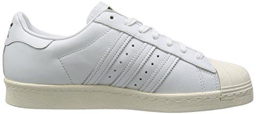 Adidas Superstar 80s Deluxe DLX, ftwr white/ftwr white/cream white Weiß