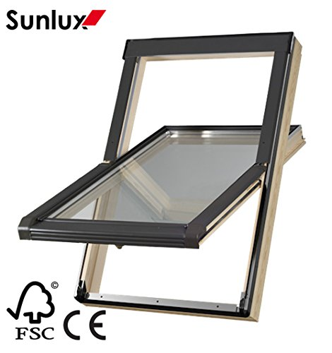 wooden-roof-window-centre-pivot-skylight-55cm-x-78cm-with-flashing-kit-inc-10-yrs-guarantee