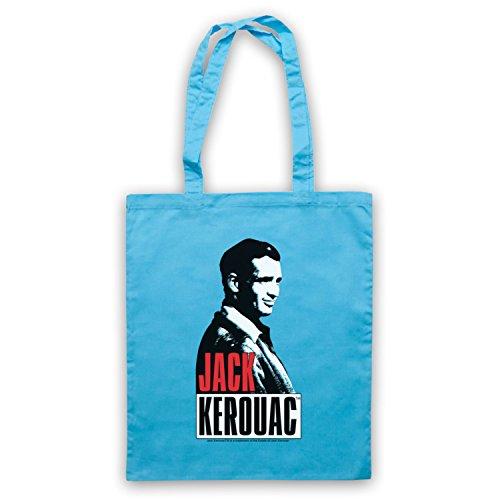 Jack Kerouac On The Road 2 Borse A Tracolla Blu Chiaro