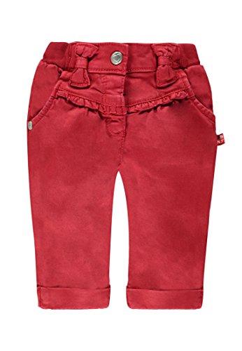 Kanz Baby - Mädchen Hose 1522114, Einfarbig, Gr. 86, Rot (crimson|red 2034)