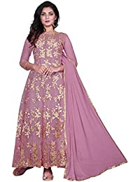 f69358bbe9 Amazon.in: Purples - Dress Material / Ethnic Wear: Clothing ...