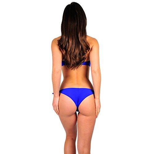 Mon Mini Bikini Tanga, blau (Hose) Blau