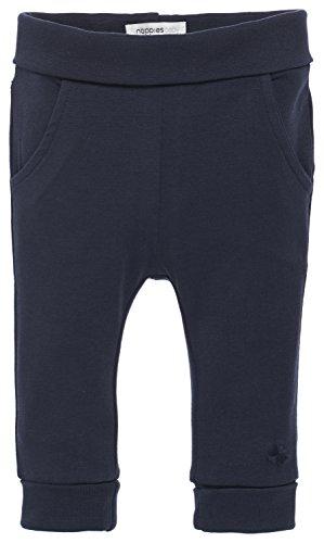 Noppies Unisex - Baby Hose U Pants Jersey Reg Humpie, Einfarbig, Gr. 62, Blau (Navy C166)