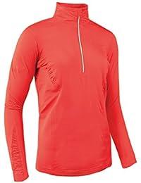 Glenmuir Damen Rüschen-Detail Fashion Golf Shirt