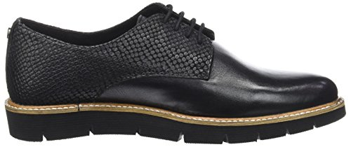 Hush Puppies Saule, Scarpe stringate Donna nero (noir)