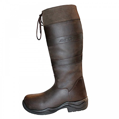 Mark Todd – Stivali Mark II Wide Marrone, donna, Brown, 6 UK 2E / 40 EU Brown