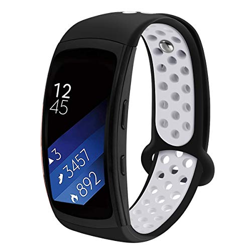 LiXiangFa is Suitable for The Samsung Gear Fit 2/Fit 2 Pro Replacement Armband, Waterproof and Soft Silicone Armband. Sports Fitness Tracker Accessories