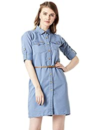 4bf0634fb2 Denim Women s Dresses  Buy Denim Women s Dresses online at best ...