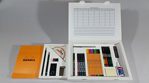 Rohe Office Box / Hochwertiges Schreib- und Zeichenset / Handmade in Germany