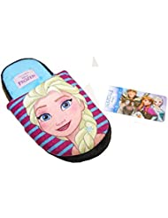 Chaussons Pantoufles Fille Reine des Neiges Frozen Disney Anna et Elsa