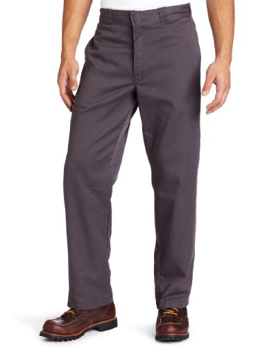 Dickies Original 874 Work - Pantalon - Droit - Homme Gris (Rinsed Steel Grey)