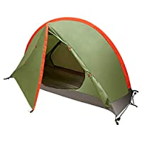 bfull one person camping tent, extremely lightweight for hiking, 216 x 72 x 105cm