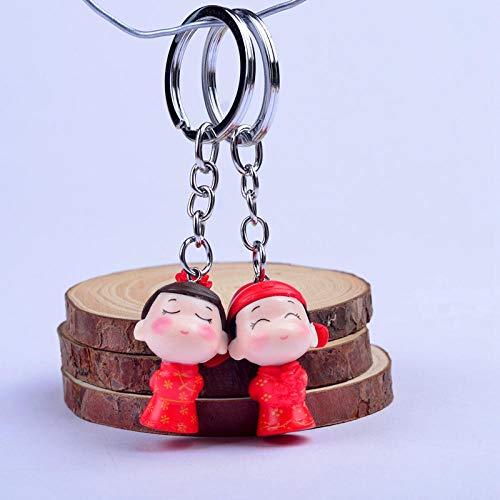 JJrainning Llavero Bolso de muñeca Lindo para Mujer Colgante Llavero Bolsa Accesorios de joyería nuevos...
