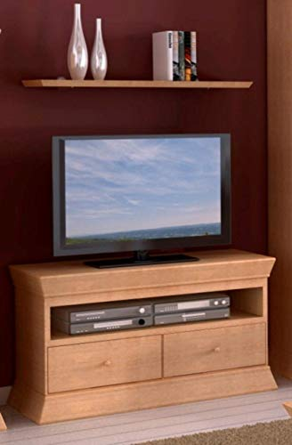 Soma TV Lowboard Fersehschrank Quadro B 114 H 64 cm Pinie massiv (BxHxL) 114 x 64 x 41 cm Pinie Honig