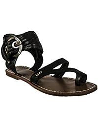 sandales - nu pieds les p'tites bombes pensee velours noir