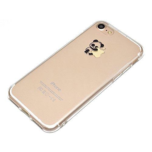 antigraffio custodia trasparente cover rigida per iphone 7 plus