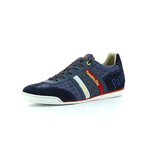 Pantofola d'Oro Ascoli Canvas Low, Sneaker uomo Blu blu 12