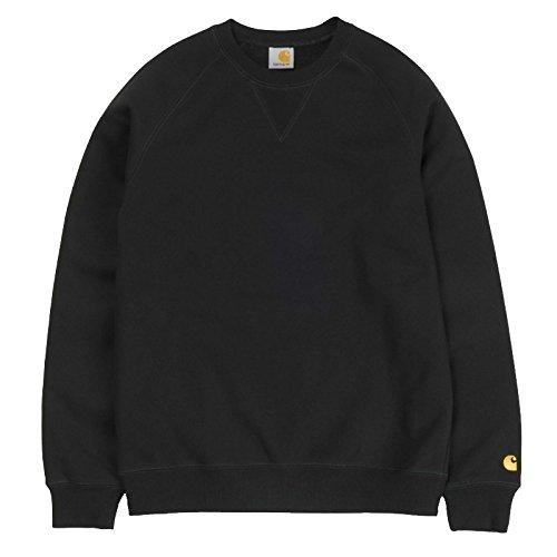 Carhartt Chase, Sweat-Shirt de Sport à Capuche Homme, Blu (Dark Navy/Gold), S (Taille Fabricant: S)