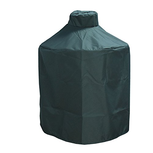 Mini Lustrous Cover Big Green Egg,Heavy Duty Ceramic Grill Cover - Premium Outdoor Grill Cover Durable Water Resistant Fabric (X-Large)