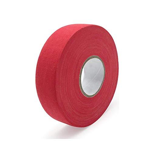 Hockey Tape Anti-Rutsch-Eishockeyschläger Band Hockey Schutz Gear Queue für Schläger Griffe, rot