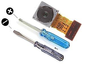 Ersatzteil für Sony Xperia Z2 Kamera Hauptkamera hinten 20,7 MP Autofokus Blitz inkl. Flexkabel und 2 x Schraubenzieher für einfache Montage MMOBIEL
