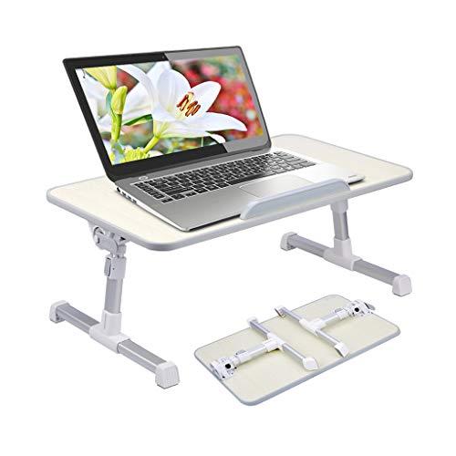 Avantree [Neu!! Niedrigere Version] Tragbarer Tisch für Laptops, zum Lesen, Frühstück im Bett, Couch, Liegestuhl, anpassbar, zusammenklappbar, Notebooks, als Lesehilfe - Neetto TB101S