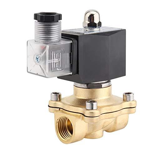 Hochleistungs-1/2-Zoll-Wechselstrom-220V / 2W-Vierkantspulen-Magnetventil aus reinem Kupfer mit direkter Wirkungsweise Elektromagnetventil