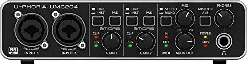 Behringer UPHORIA UMC204 scheda audio con software gratuito