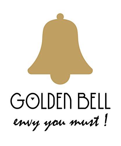 Golden Bell Original Black Dial Brown Strap Analog Wrist Watch For Men - Gb852