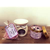 'Alien' Perfume Scented Candle Package Gift Set - Personalised Birthday gift/present/Christmas Gift Present