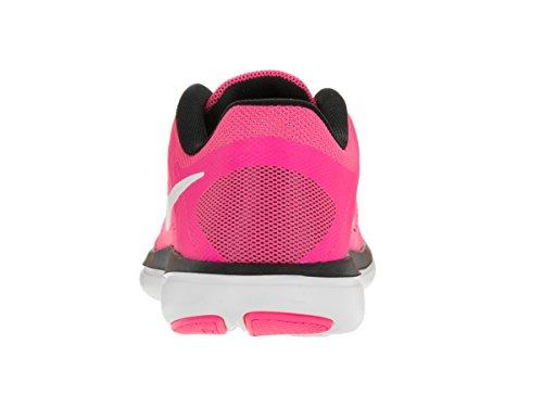 Nike Wmns Flex 2016 Rn, Scarpe da Ginnastica Donna, UK Rosa (Rosa (Pnk Blast / White Blk Elctrc Grn))