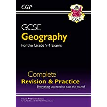 New Grade 9-1 GCSE Geography Complete Revision & Practice (with Online Edition) (CGP GCSE Geography 9-1 Revision)