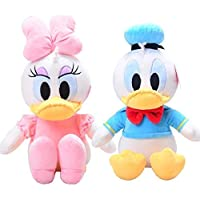 Kids Favorite Pair Donald and Daisy Duck Plush Soft Toy, Best Gift for boy Girl (30 cm)