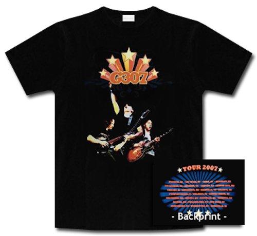 G307 * Joe Satriani * John Petrucci * Paul Gilbert * Tour 2007 * Shirt * XL