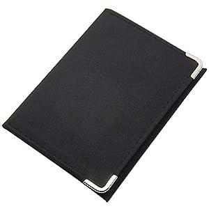 Ausweisetui / Ausweishülle / Kreditkartenetui mit Metallschutzecken in 2 verschiedenen Designs (Modell 1 / Ohne Folie)
