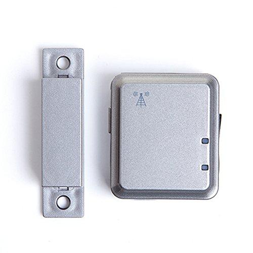 Home Alarm System–Sicherheit Tür Magnetverschluss Tür und Fenster Alarm mit App Silent Alarm GSM Netzwerk Wireless Instant Stimme Kommunikation Silent Alarm für reachfar V13, silber