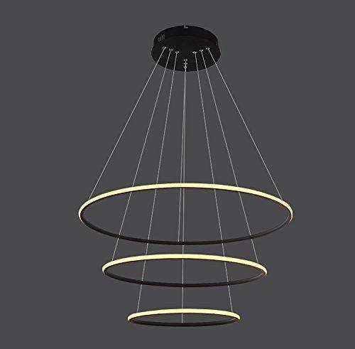 Saint Mossi® Exklusiv Entwurf Modern Kronleuchter Lüster Hängelampe Pendelleuchten LED Deckenleuchte Drei Stufe Leuchter Aussehen Einstellbar LED Lichtquelle Integriert - 2