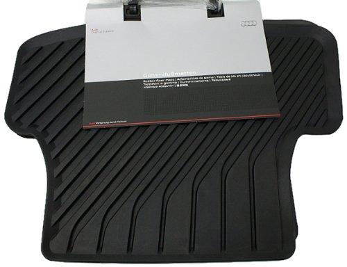 Preisvergleich Produktbild Audi 8V0061511041Spiel Matten hinten aus Gummi, All, Schwarz