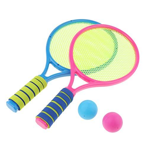 ger & Bälle Tennis Set für Kinder Outdoor Sport Spielzeug - B ()