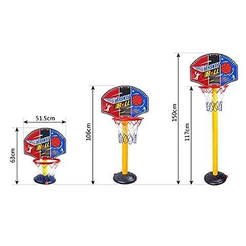 Panier Basket Exterieur - Paniers mobiles,Finer Shop Un 63-150cm Panneau de