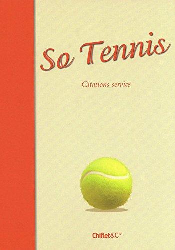 SO TENNIS