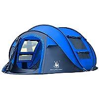 Einfach zu Einrichtung und faltbar Candora 4 Instant Pop Up Zelt Pop-Up Zelt Automatische Konfiguration in 1 Sekunden sehr Familie Camping Outdoor Zelten Schutzdach