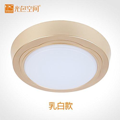 Lights CC CircularLedKitchen soffitto bagno di luce luce la cucina e il bagno luce impermeabili (277 Di Cristallo)