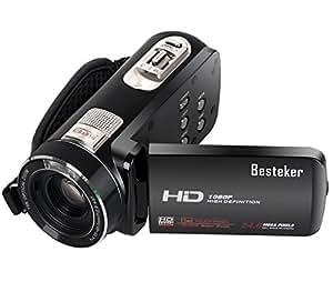 1080P Camcorder, Besteker Protable FHD Max 24.0 Mega ...