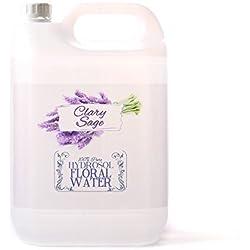 Hidrosol Agua Floral de Salvia Sclarea - 5 Kg