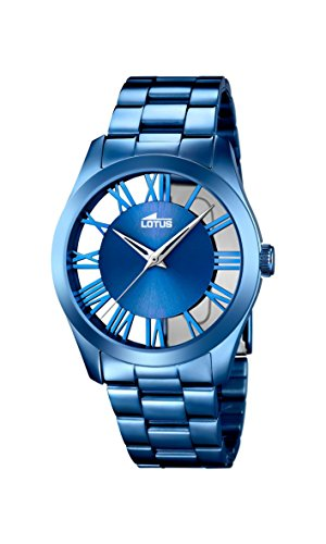 Lotus Women's Analogue Watch with Blue Dial Analogue