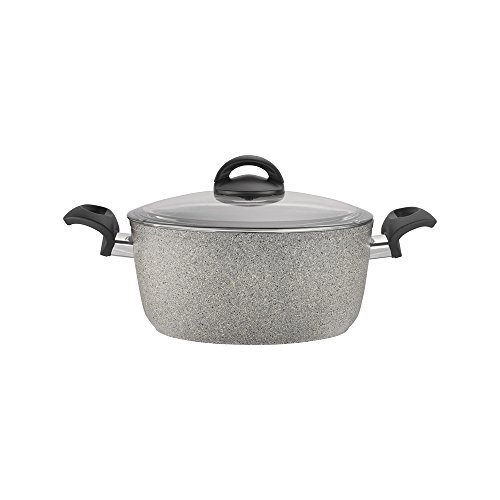 BALLARINI 75001-644 Parma Forged Aluminium Nonstick Dutch Oven with Lid, NA, 4.8 quart
